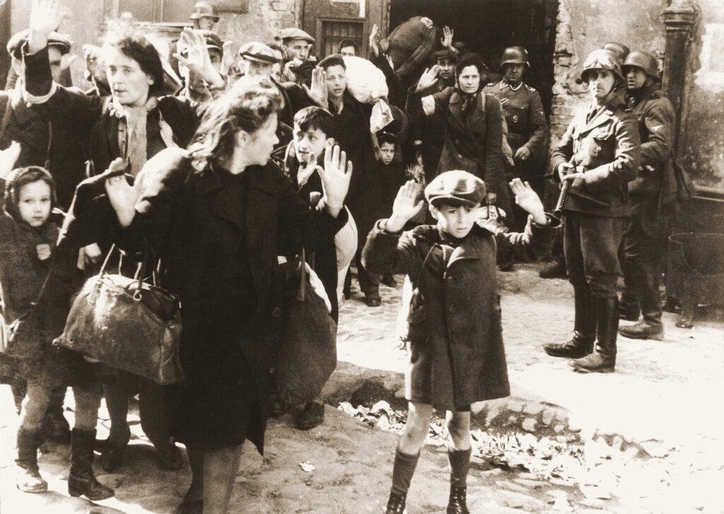 Foto des Jungen aus dem Warschauer Ghetto
